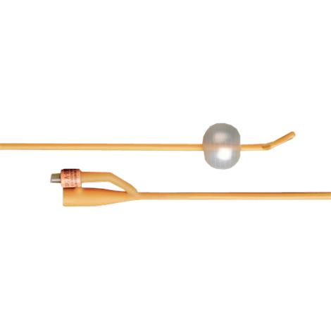 Bard Bardex Two-Way Six Eyed Latex Foley Catheter With 5cc Balloon Capacity,18FR,Each,606118 57606118/ea