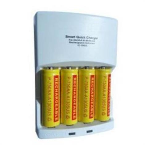 BioMedical NiMH Rechargable AA Battery,Battery Charger Kit,Each,L00084