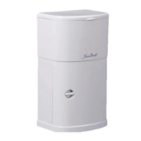 Janibell Under Cabinet Trash Can,4 Gallon,Each,M250HW