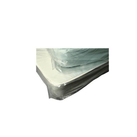 "Elkay Tan Tint Split Spring Bed Cover,72"" x 52"",100/Pack,BOR7252T"