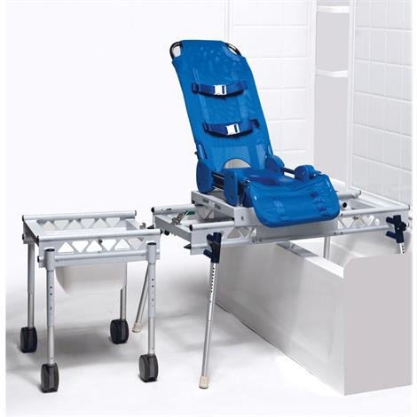 Columbia Omni Reclining Bath Shower And Commode Transfer System,0,Each,0
