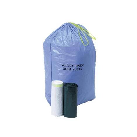 Medline Solid Linen Drawstring Liners,29 x 41,1.1mil,33Gallon,White Unprinted,200/Case,NON022939WH