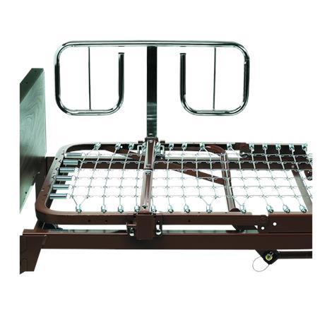 Invacare Bariatric Half Length Bed Rails,Half-length bed rails,Pair,BAR6640P
