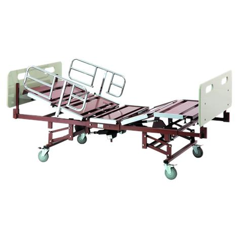 Invacare Bariatric Full Electric Hospital Bed with 42 inch Wide Mattress,Bariatric Hospital Bed Package,Each,BARPKG750-1-1633