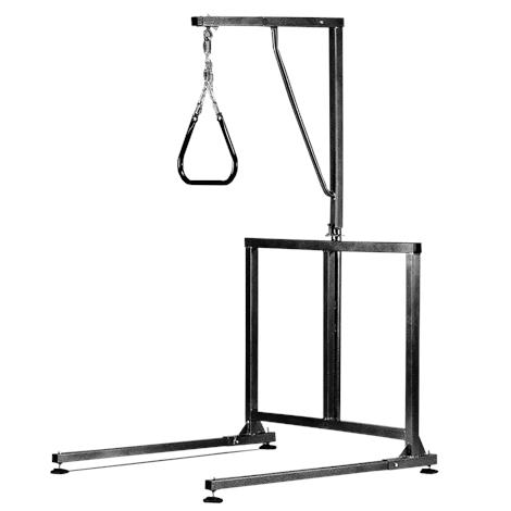 Tubular Fabricators The Grand Line Heavy Duty Bariatric Trapeze,Black,Each,8760-1