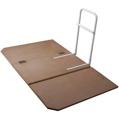 Drive Home Bed Assist Rail with Folding Bed Board Combo,Rail Dimensions: 11.5W x 22.5H x 30D,Each,15062