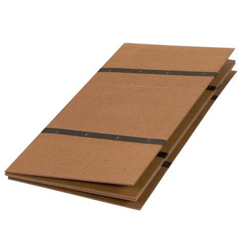 "Mabis DMI Twin Folding Bed Board,30"" x 60"",Each,552-1950-0000"
