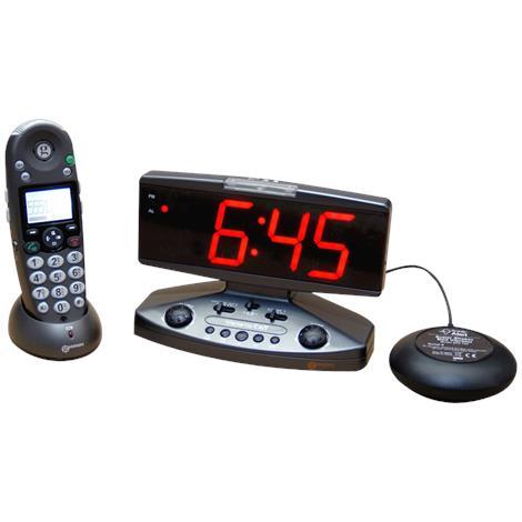 Sonic Alert Wake Up Call Alarm Clock,2 x 6,Each,AMPLICALL500 SA-AMPLICALL500