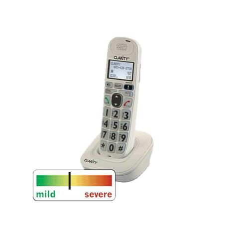 Clarity D704HS DECT 6.0 Amplified Phone Expandable Handset,Expandable Handset,Each,D704HS