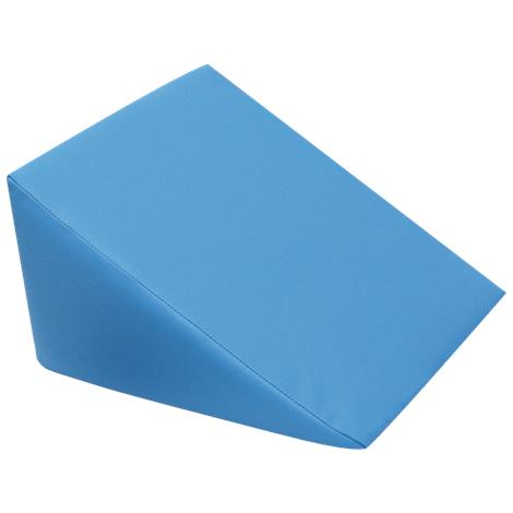 A3BS Large Foam Wedge Pillow,Dark Blue,Each,W15099DB