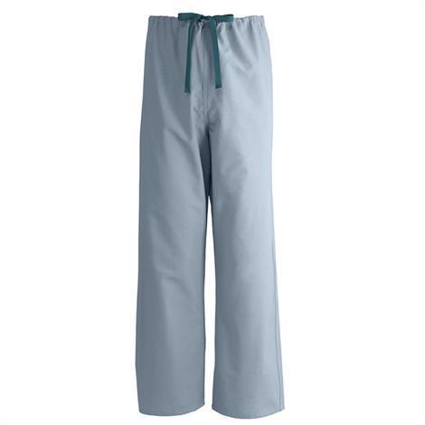 Medline AngelStat Unisex Reversible Drawstring Misty Green Scrub Pants - Value Pack