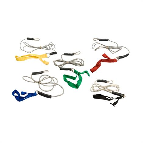 CanDo Seven Foot Exercise Bungee Cord,Black,X-Heavy,Each,#10-5805