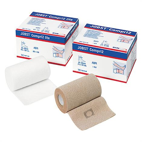 "BSN Jobst Compri2 Two Layer Lite Compression Bandage,Ankle Size: 7.5"" - 9.75"",Each,7627102"