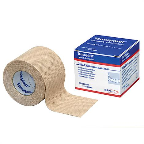 "BSN Tensoplast Elastic Adhesive Bandage,1"" x 5yd,Beige,36/Pack,2598002"