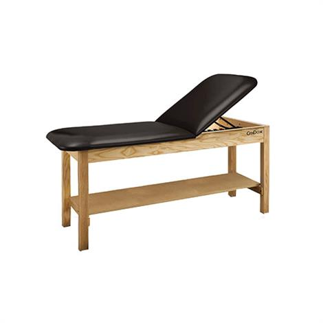 CanDo Treatment Table With Adjustable Back And Shelf,0,Each,15-42