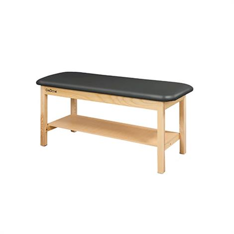 CanDo Treatment Table With Flat Top And Shelf,0,Each,15-42