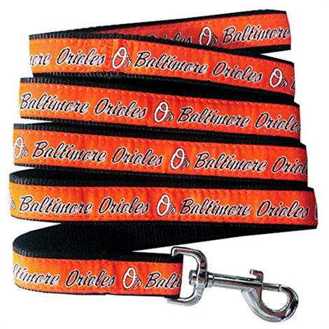First Baltimore Orioles Dog Leash,One Size,4ft Long x 3/4