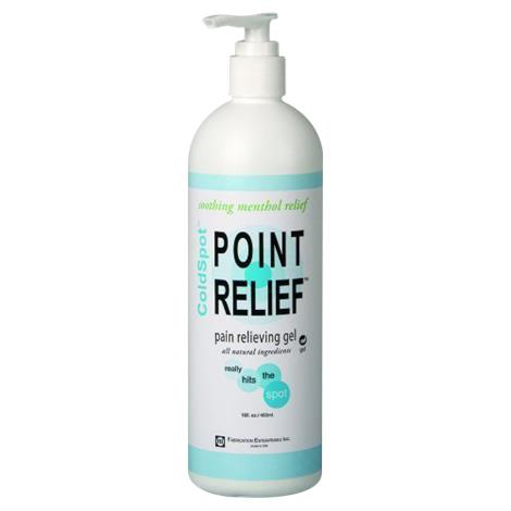 Fabrication Point Relief ColdSpot Lotion Gel,16 Oz Pump Bottle,Each,#11-0710-1