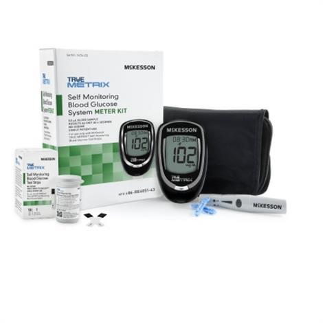 McKesson True Metrix Monitoring System,Meter,6/Case,06-RE4051-43