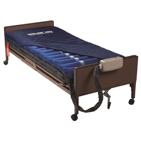 """Meridian Ultra-Care Excel 4500 Alternating Pressure And Low Air Loss Mattress System,80"""" x 35.5"""" x 8"""",Each,MER-4500"""