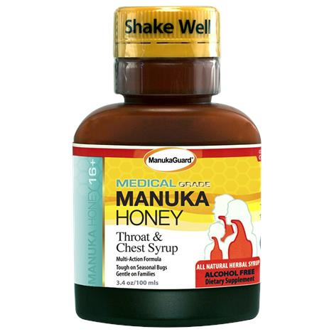 Manukaguard Throat And Chest Syrup,3.4 Oz.,Each,123396-4