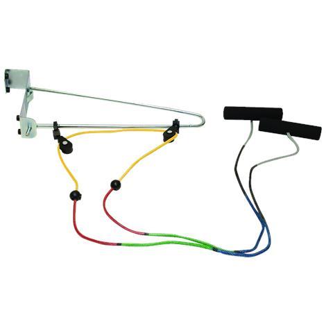 CanDo Visualizer Overdoor Shoulder Pulley Exerciser,Double Pulley With Door Bracket,Each,#50-1034
