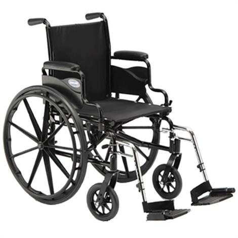 "Invacare 9000 SL 20 Inches Wheelchair,20""W x 16""D With Fixed Height Space - Saver Desk Arm,Each,9SL_PTO_47874"