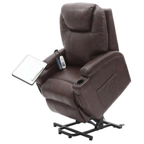 Healthline Mercury Infinite-Position Lift Chair,Black,Each,Mercury-Black