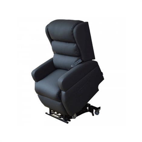 Healthline Earth Vertical Infinite-Position Lift Chair,Grey,Each,CH4012