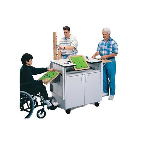 "Hausmann Cubex Therapy System On Wheels,38""L x 24""D x 38""H,Each,6690"