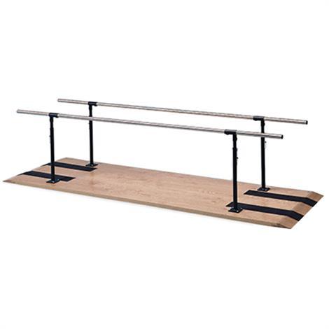 Hausmann Height Adjustable Parallel Bars,10ft Length,Each,1300