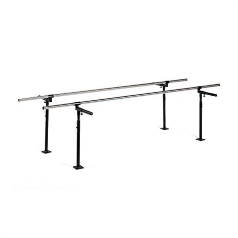 "Hausmann Floor Mounted Parallel Bars,10"" Length,Each,1340"