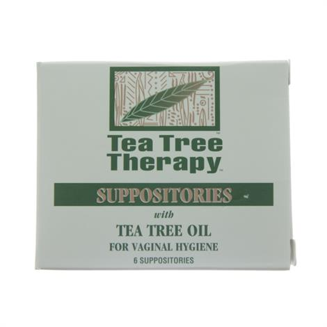 Image of Tea Tree Therapy Suppositories,Suppositories,6 ct.,Each,74400