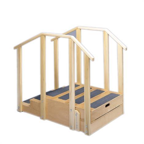 Fabrication Training Stairs,Bariatric Training Stairs,Each,15-4207