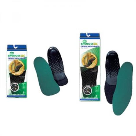 Image of Orthotic Arch Support Full Length Insoles,Full Length,Size - 1,Pair,55101401