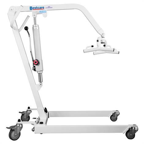 Bestcare Apex Genesis Hydraulic Convertible Patient Lift,400H Manual Hydraulic Lift,White,Each,DPL400H