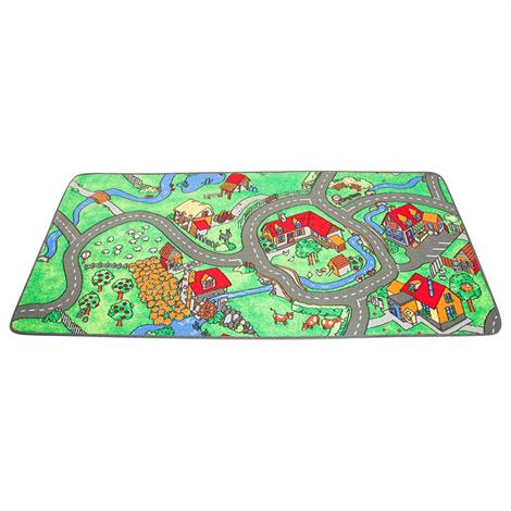 Childrens Factory Farm Play Carpet,79 x 36 inch,Each,LC116