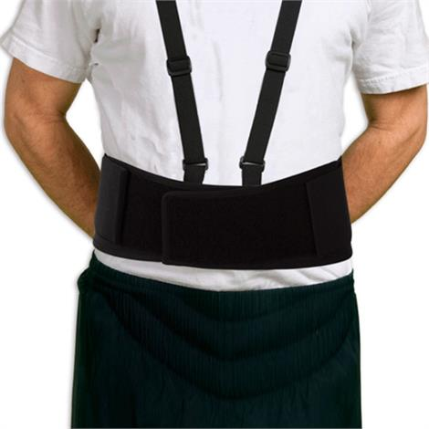 AT Surgical Knit Ergonomics Economy Lifting Back Belt,Large,Without Suspenders,Each,694-L
