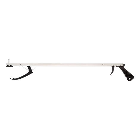 "Essential Medical Aluminum Reacher with Trigger Activated Jaw,26""L,Each,P2226"