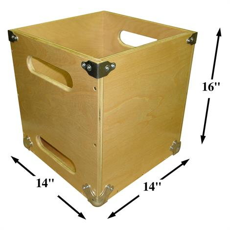 "Bailey Heavy Duty Lift Box,Inside Dimensions: 16""High x 14"" Square,Each,6032HD"