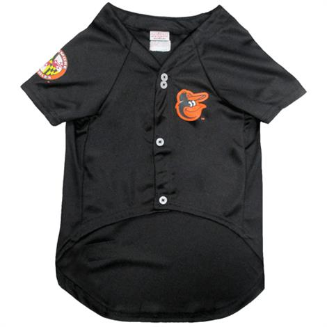 First Baltimore Orioles Baseball Dog Jersey,Large,Each,ORL-4006