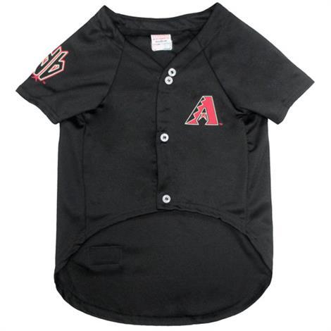 First Arizona Diamondbacks Baseball Dog Jersey,Large,Each,DMB-4006