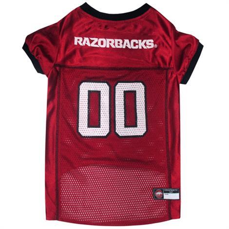 First Arkansas Razorbacks Mesh Football Dog Jersey,Large,Each,ARK-4006