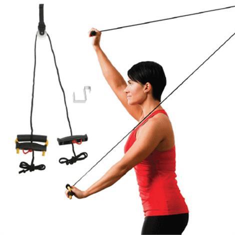 Lifeline Econo Shoulder Pulley,Deluxe,Each,LLESP-4
