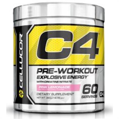 Cellucor C4 Original Pre Workout Dietary ,30 Servings,Blue Raz,Each,3620551