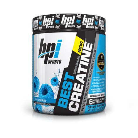 BPI Sports Best Creatine Dietary ,Snow Cone,Each,8040031