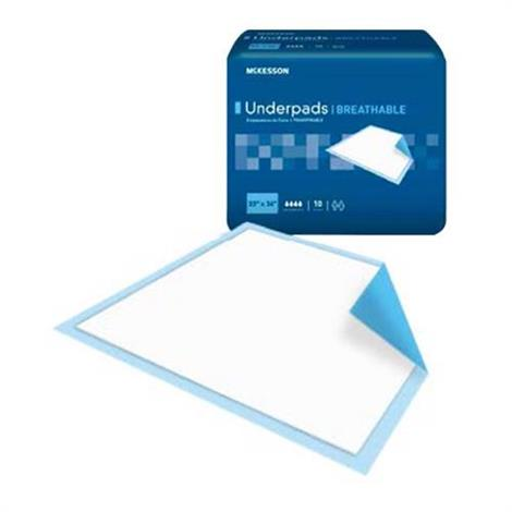 Mckesson Ultra Fluff Heavy Absorbency Breathable Underpad,23 x 36,10/Pack,6Pk/Case,UPHV2336