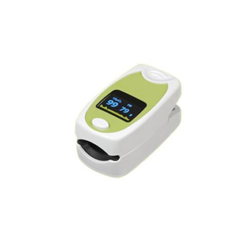 Mabis DMI HealthSmart Deluxe Fingertip Pulse Oximeter,2.6L x 1.4W x 1.3H,Each,40-812-000