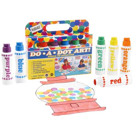 Playability DO-A-DOT Markers With Braille Color Identifiers,Markers With Braille Color Identifiers,Each,320