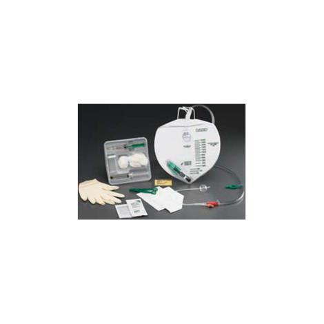 Bard LUBRI-SIL Drainage Bag Foley Tray,With 14FR Catheter,10/Case,907314
